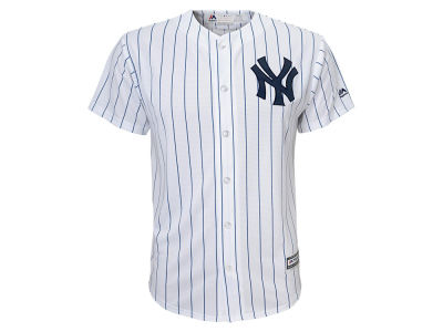 New York Yankees MLB Kids Blank Replica Cool Base Jersey