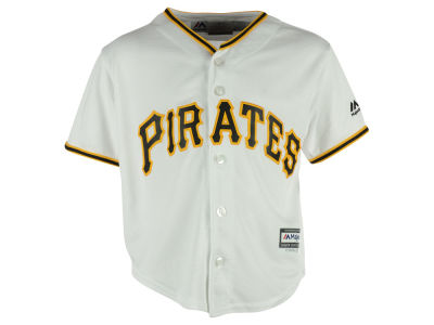 Pittsburgh Pirates Majestic MLB Kids Blank Replica Cool Base Jersey