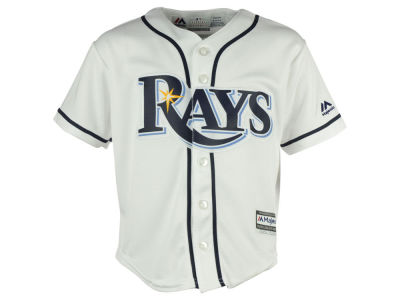 Tampa Bay Rays Majestic MLB Kids Blank Replica Cool Base Jersey
