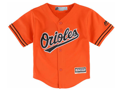 Baltimore Orioles Majestic MLB Toddler Blank Replica Cool Base Jersey