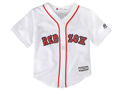 Boston Red Sox Majestic MLB Toddler Blank Replica Cool Base Jersey