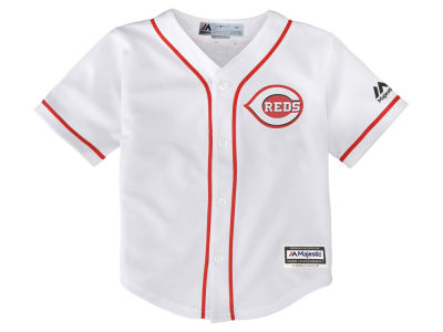 Cincinnati Reds Majestic MLB Toddler Blank Replica Cool Base Jersey