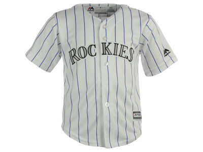 Colorado Rockies MLB Toddler Blank Replica CB Jersey