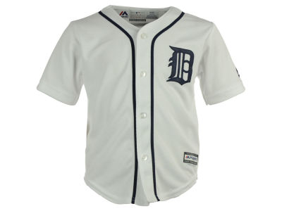Detroit Tigers Majestic MLB Toddler Blank Replica Cool Base Jersey