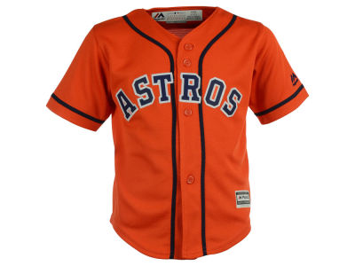 Houston Astros Majestic MLB Toddler Blank Replica Cool Base Jersey