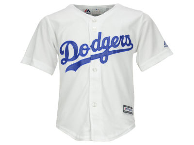 Los Angeles Dodgers Majestic MLB Toddler Blank Replica Cool Base Jersey