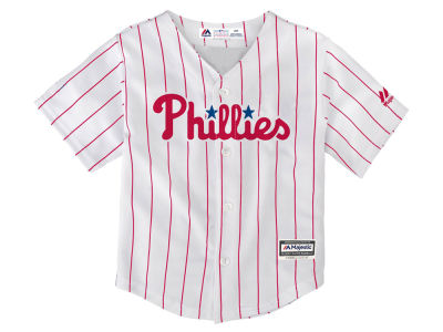 Philadelphia Phillies Majestic MLB Toddler Blank Replica Cool Base Jersey