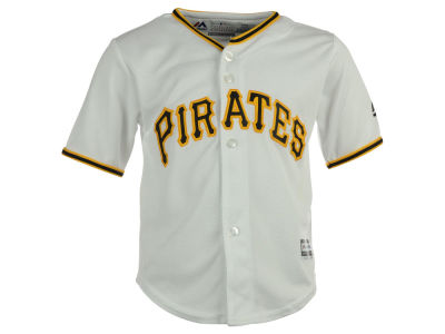 Pittsburgh Pirates Majestic MLB Toddler Blank Replica Cool Base Jersey