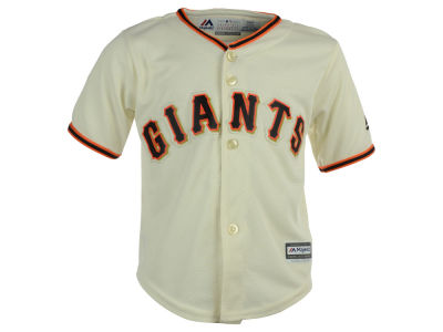 San Francisco Giants Majestic MLB Toddler Blank Replica Cool Base Jersey