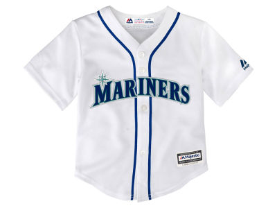 Seattle Mariners Majestic MLB Toddler Blank Replica Cool Base Jersey