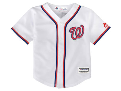 Washington Nationals MLB Toddler Blank Replica Cool Base Jersey