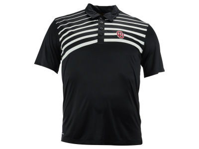 Oklahoma Sooners NCAA Men's Gradient Stripe Polo Shirt