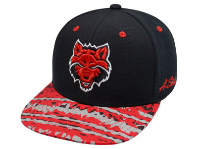 Arkansas State Red Wolves Top of the World NCAA Realease Snapback Cap