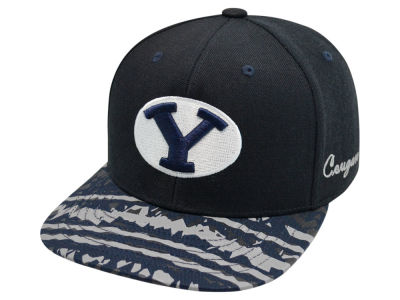 Brigham Young Cougars Top of the World NCAA Realease Snapback Cap