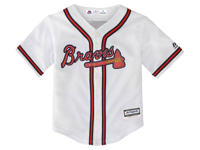 Atlanta Braves Majestic MLB Infant Blank Replica CB Jersey