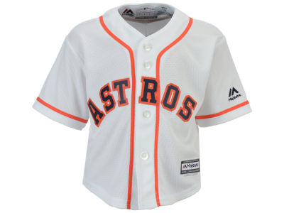 Houston Astros MLB Infant Blank Replica CB Jersey