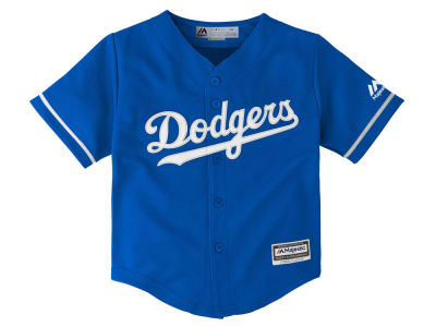 Los Angeles Dodgers Majestic MLB Infant Blank Replica CB Jersey