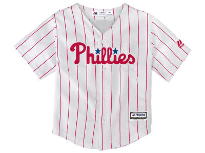 Philadelphia Phillies Majestic MLB Infant Blank Replica CB Jersey
