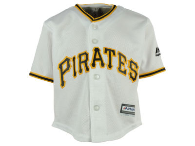 Pittsburgh Pirates Majestic MLB Infant Blank Replica CB Jersey