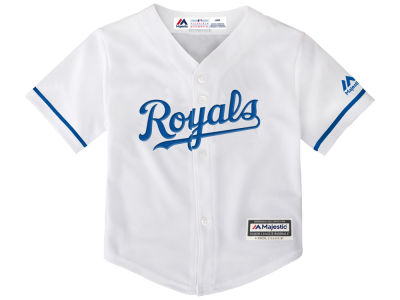 Kansas City Royals Majestic MLB Infant Blank Replica CB Jersey