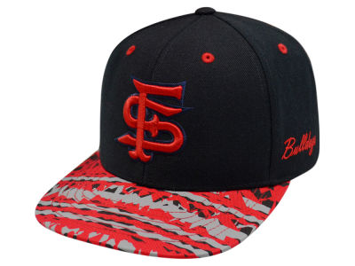 Fresno State Bulldogs Top of the World NCAA Realease Snapback Cap