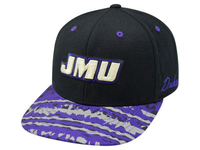 James Madison Dukes Top of the World NCAA Realease Snapback Cap
