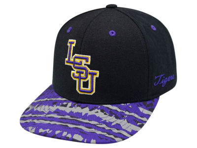 LSU Tigers Top of the World NCAA Realease Snapback Cap