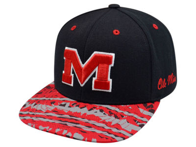 Ole Miss Rebels Top of the World NCAA Realease Snapback Cap