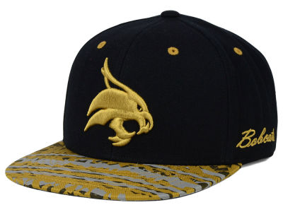 Texas State Bobcats Top of the World NCAA Realease Snapback Cap