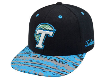 Tulane Green Wave Top of the World NCAA Realease Snapback Cap