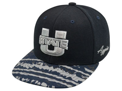 Utah State Aggies Top of the World NCAA Realease Snapback Cap