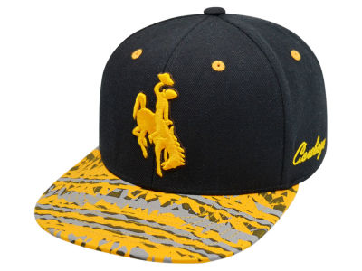 Wyoming Cowboys Top of the World NCAA Realease Snapback Cap