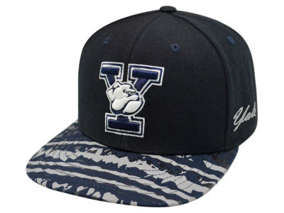Yale Bulldogs Top of the World NCAA Realease Snapback Cap
