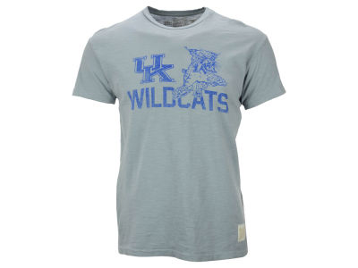 Kentucky Wildcats NCAA Men's Retro Mascot Logo T-Shirt