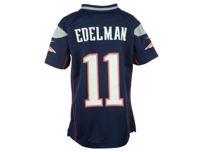 New England Patriots Julian Edelman Nike NFL Youth Game Jersey