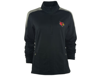 Louisville Cardinals NCAA Women's Succeed Half Zip Pullover Shirt