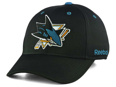 San Jose Sharks Reebok NHL JC Core Basic Flex Fit Hat