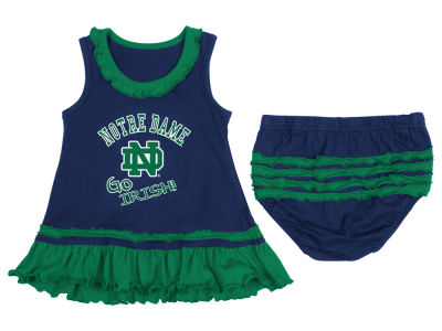 Notre Dame Fighting Irish NCAA Newborn Ruffle Tank Dress
