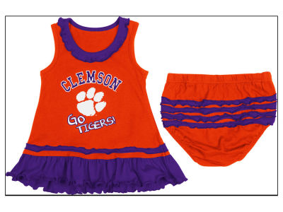 Clemson Tigers NCAA Newborn Ruffle Dress