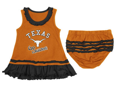 Texas Longhorns NCAA Newborn Ruffle Dress