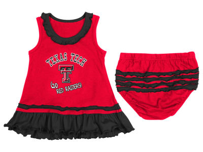 Texas Tech Red Raiders NCAA Newborn Ruffle Tank Dress