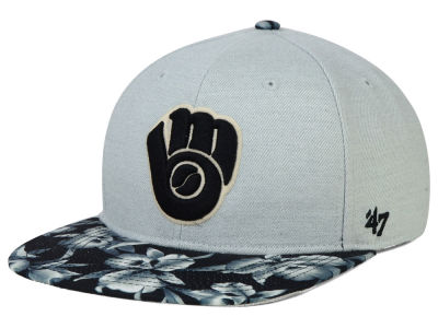 Milwaukee Brewers '47 MLB Superbank '47 Snapback Cap