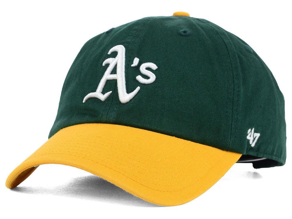c4135b4233e Oakland Athletics  47 MLB On-Field Replica  47 CLEAN UP Cap