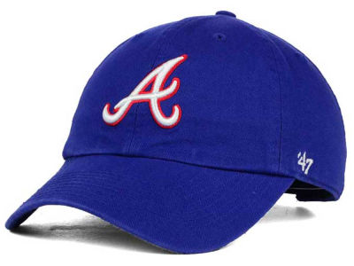 Atlanta Braves '47 MLB Cooperstown '47 CLEAN UP Cap