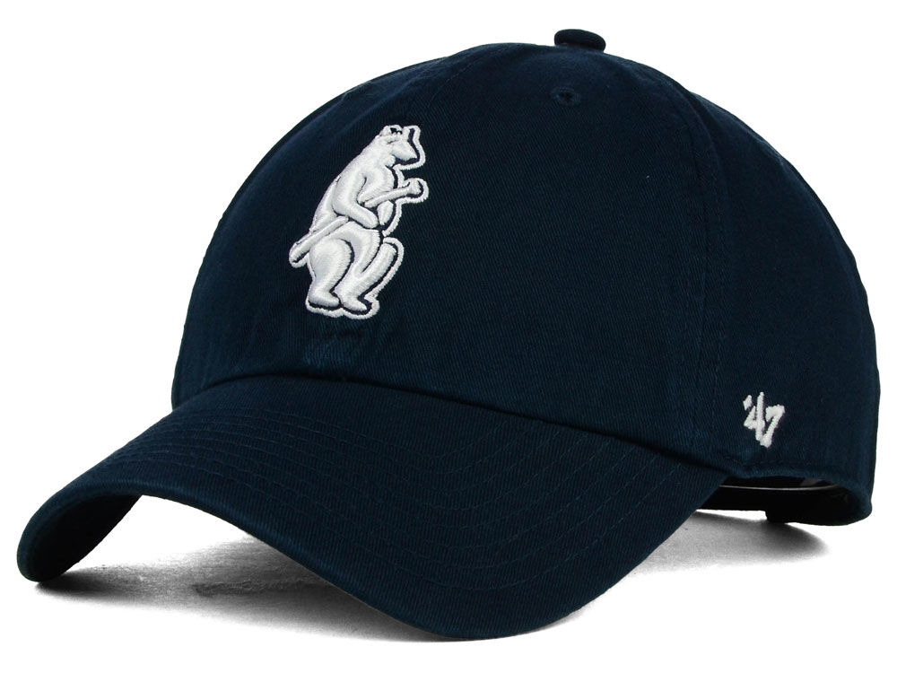 Chicago Cubs  47 MLB Cooperstown  47 CLEAN UP Cap  31f75d8b929b