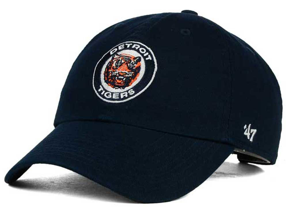online store 955b5 18de9 ... wholesale detroit tigers 47 mlb cooperstown 47 clean up cap 2d853 eaef3