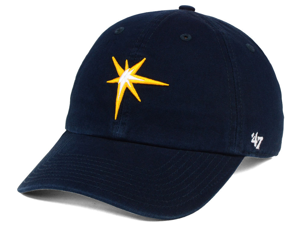 new concept b47d0 6303d ... italy tampa bay rays 47 mlb core 47 clean up cap d0ecf 6a429