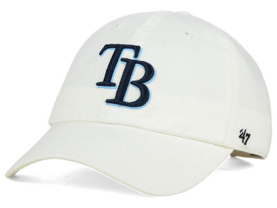 Tampa Bay Rays '47 MLB White '47 CLEAN UP Cap