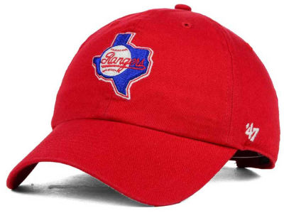 Texas Rangers '47 MLB Cooperstown '47 CLEAN UP Cap
