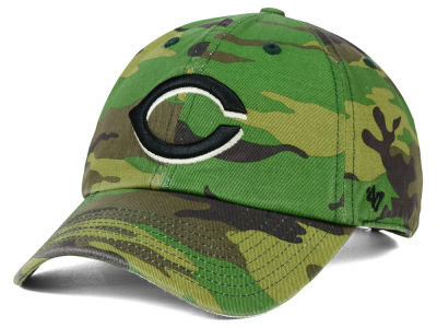 Cincinnati Reds '47 MLB Camo '47 CLEAN UP Cap